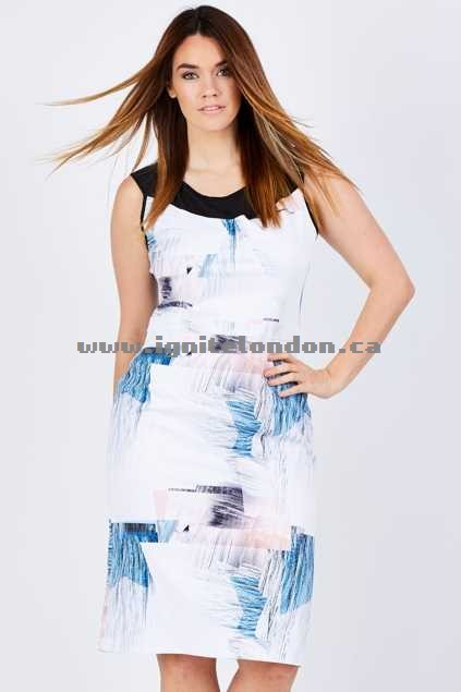 Womens 3rd Love Rylee Dress Print - Prints Best