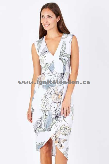 Womens 3rd Love Willow Dress Print - Prints, Floral Great Deals 2018