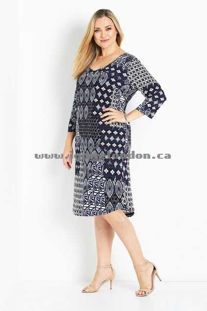 Womens Belle bird Belle Aria Print Shift Dress Blue - Stretch, Prints Outlet Sale