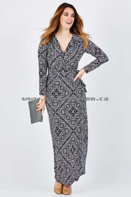 Womens Belle bird Belle Dot Print Maxi Navy - Prints, Stretch Outlet Sale