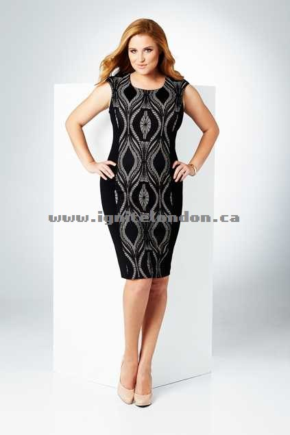 Womens Belle bird Belle Lace Insert Dress Black - Lace, Stretch Outlet Sale