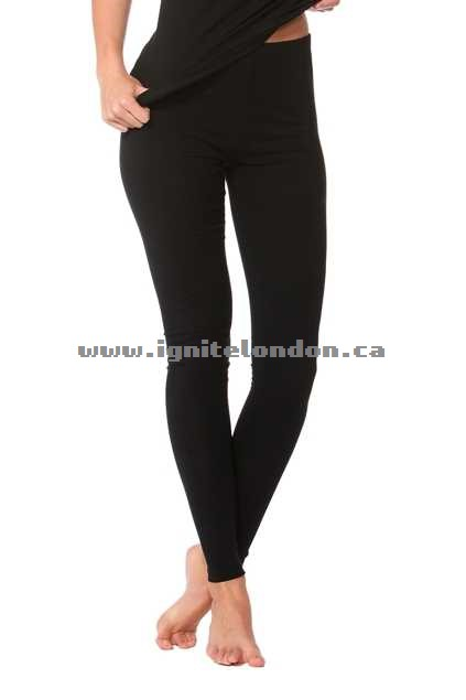 Womens Betty Basics Christina Legging Black - Plain Colour, Stretch Clearance