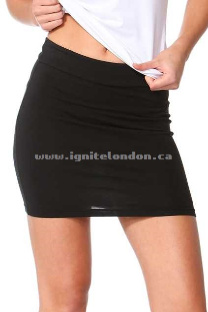 Womens Betty Basics Kylie Mini Skirt Black - Plain Colour, Stretch The Cheapest