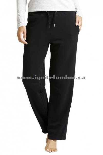 Womens Bonds Wide Leg Trackie Black - Plain Colour, Plain Colour, Stretch 100% Quality Guarantee
