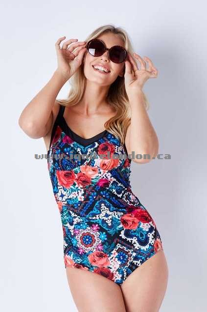 Womens Capriosca Underwire One Piece FolkRose - Prints, Floral, Stretch Great Deals 2018
