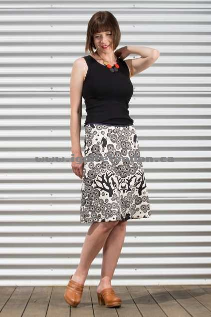 Womens Essaye Mikko Aline Skirt InkNatural - Prints Sale