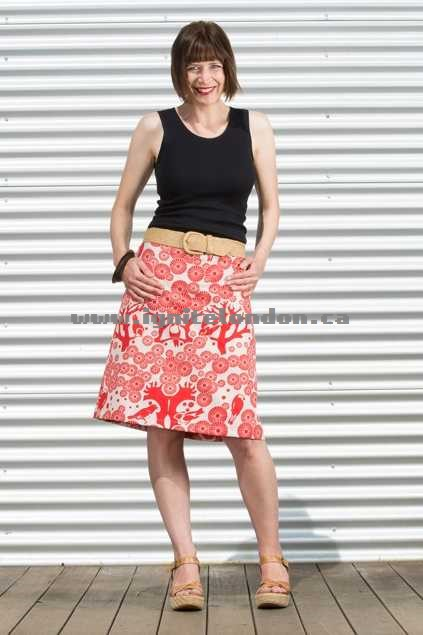 Womens Essaye Mikko Aline Skirt LipChino - Prints Cheap Price