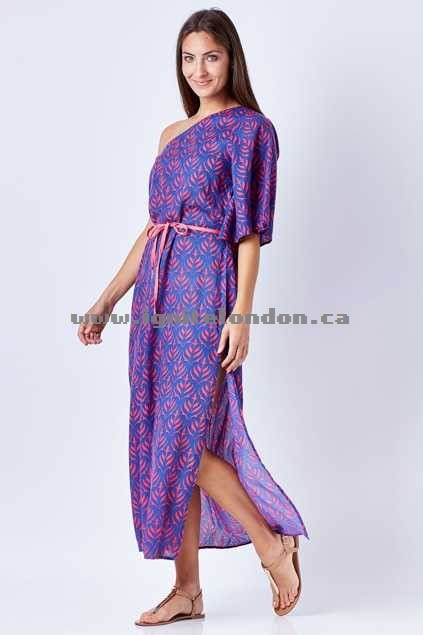 Womens Firefly Eliza Dress PeonyPink - Prints Canada Sale