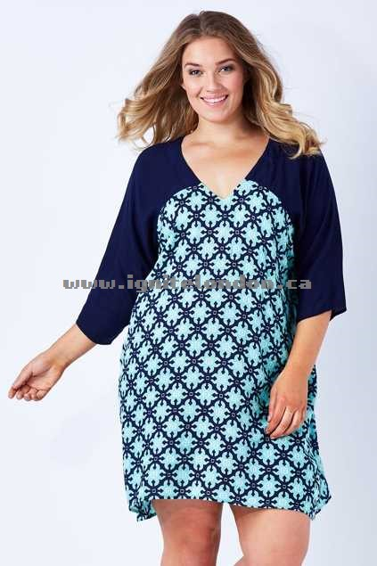 Womens Firefly Khloe Dress MoroccNavy - Prints 2018 New
