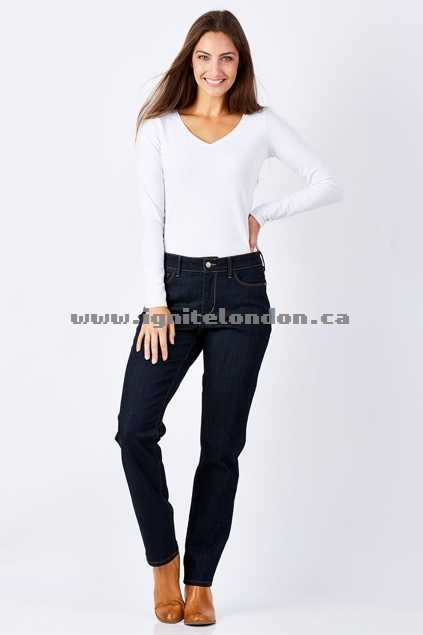 Womens Not Your Daughters Jeans Sheri Skinny Jean Larchmont - Plain Colour, Stretch Fashion Style