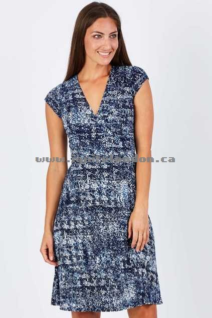 Womens Rebecca Ruby Fleur Dress Multi - Stretch, Prints Discount Code