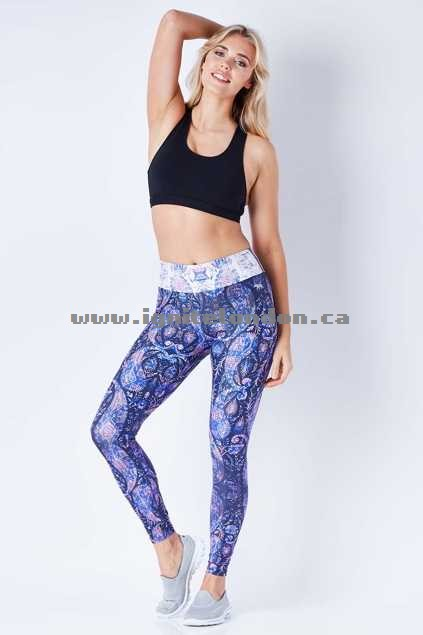 Womens Running Bare Heather Full Length Tights Heather - Stretch, Prints For Sale