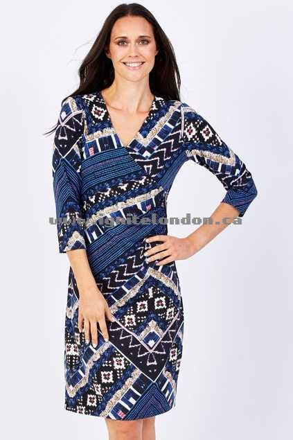 Womens Spicy Sugar Abbey Wrap Dress Print - Stretch, Prints Sale