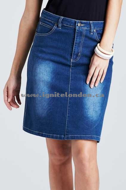 Womens bird keepers The Denim Skirt Denim - Cheap Price