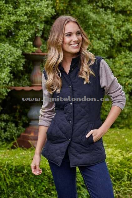 Womens bird keepers The Everyday Vest Black - Plain Colour Clearance